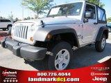 2012 Bright Silver Metallic Jeep Wrangler Sport 4x4 #54791751