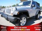 2012 Bright Silver Metallic Jeep Wrangler Sport S 4x4 #54791749