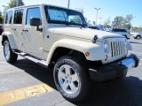 2012 Jeep Wrangler Unlimited Sahara Tan