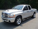 2006 Bright Silver Metallic Dodge Ram 1500 SLT Quad Cab #54791897