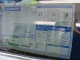 2011 Honda CR-V EX Window Sticker