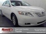 2008 Super White Toyota Camry XLE #54791877