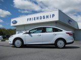 2012 Oxford White Ford Focus SE SFE Sedan #54809618