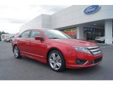 2011 Red Candy Metallic Ford Fusion Sport #54815178