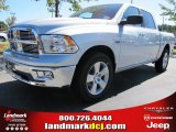 2012 Bright Silver Metallic Dodge Ram 1500 Big Horn Crew Cab #54815173