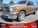 2012 Saddle Brown Pearl Dodge Ram 1500 Big Horn Crew Cab #54815171