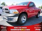 2012 Flame Red Dodge Ram 1500 ST Regular Cab #54815170