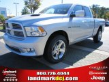 2012 Bright Silver Metallic Dodge Ram 1500 Sport Quad Cab #54815164