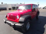 2012 Flame Red Jeep Wrangler Unlimited Rubicon 4x4 #54815343
