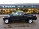 2011 Ebony Black Ford F150 XLT SuperCab 4x4 #54815332