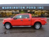2011 Race Red Ford F150 XLT SuperCrew 4x4 #54815323