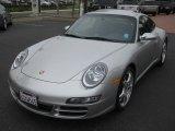 2008 GT Silver Metallic Porsche 911 Carrera 4S Coupe #54815090