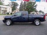 2011 Imperial Blue Metallic Chevrolet Silverado 1500 LT Extended Cab 4x4 #54815079