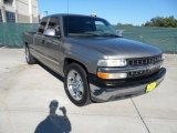 2000 Light Pewter Metallic Chevrolet Silverado 1500 LT Extended Cab #54815272