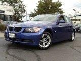 2008 Montego Blue Metallic BMW 3 Series 328xi Sedan #54815073