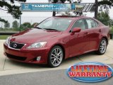 2008 Matador Red Mica Lexus IS 250 #54815468