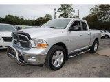 2009 Bright Silver Metallic Dodge Ram 1500 Big Horn Edition Quad Cab 4x4 #54815466