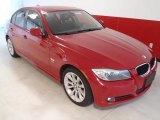 2009 Crimson Red BMW 3 Series 328xi Sedan #54814956