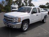 2012 Summit White Chevrolet Silverado 1500 LT Extended Cab #54815442
