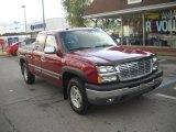 2004 Sport Red Metallic Chevrolet Silverado 1500 Z71 Extended Cab 4x4 #54815243