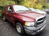 2002 Dark Garnet Red Pearlcoat Dodge Ram 1500 ST Regular Cab #54815206