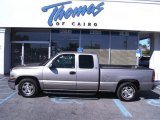 2000 Light Pewter Metallic Chevrolet Silverado 1500 LS Extended Cab #54815377
