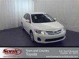 2011 Super White Toyota Corolla LE #54851450