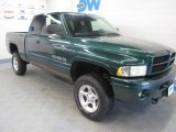 2001 Forest Green Pearl Dodge Ram 1500 SLT Club Cab 4x4 #54851441