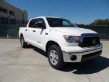 2012 Super White Toyota Tundra CrewMax 4x4 #54851148