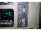 2004 Chevrolet Astro Passenger Van Controls