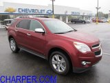 2010 Cardinal Red Metallic Chevrolet Equinox LTZ #54851662