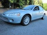 2002 Sterling Blue Satin Glow Chrysler Sebring LX Sedan #54851656