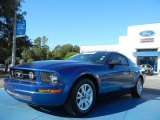 2007 Vista Blue Metallic Ford Mustang V6 Premium Coupe #54851029