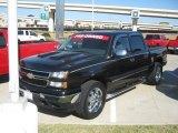 2006 Black Chevrolet Silverado 1500 LS Crew Cab 4x4 #54851319