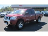 2007 Red Brawn Nissan Titan SE King Cab 4x4 #54851284