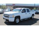 2008 Summit White Chevrolet Silverado 1500 LT Crew Cab #54851283