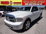 2011 Bright White Dodge Ram 1500 Big Horn Crew Cab #54851556
