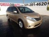 2012 Sandy Beach Metallic Toyota Sienna XLE #54851274