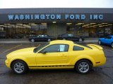 2005 Screaming Yellow Ford Mustang V6 Premium Coupe #54851262