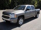 2007 Graystone Metallic Chevrolet Silverado 1500 LT Crew Cab #54851534