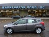 2012 Sterling Grey Metallic Ford Focus SE 5-Door #54851254