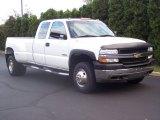 2002 Summit White Chevrolet Silverado 3500 LS Extended Cab Dually #54851222