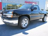 2005 Black Chevrolet Silverado 1500 Regular Cab #54851219