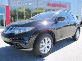 2011 Super Black Nissan Murano SL #54851218
