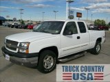 2003 Summit White Chevrolet Silverado 1500 LS Extended Cab 4x4 #54913285
