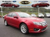 2011 Red Candy Metallic Ford Fusion SEL V6 AWD #54913561