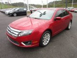 2011 Ford Fusion SEL V6 AWD Front 3/4 View