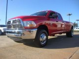 2012 Flame Red Dodge Ram 3500 HD ST Crew Cab 4x4 Dually #54913266
