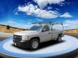 2009 Silver Birch Metallic Chevrolet Silverado 1500 Regular Cab #54913532