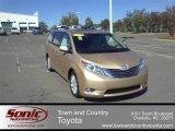 2012 Sandy Beach Metallic Toyota Sienna Limited #54913255